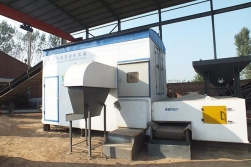 Mobile Solid Waste Sorting Station